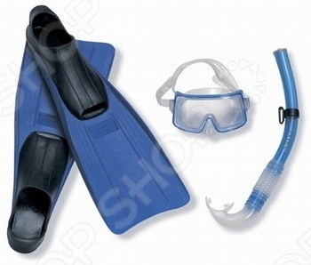 Набор: маска с трубкой и ластами Intex 55958