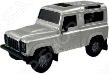 Модель машины на радиоуправлении 1:24 Welly Land Rover Defender представляет собой, являющуюся точной копией настоящего автомобиля. Большая достоверность и похожесть настоящего транспортного средства обеспечивается наличием всех деталей, которые есть в реальной жизни: зеркалами заднего вида, выхлопной трубой, фарами. Она будет прекрасным подарком для вашего малыша, так как это не только игрушка, но и полезная вещь, во время игры с которой у ребенка развивается мелкая моторика рук, воображение и фантазия.