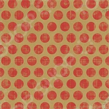 фото Бумага для скрапбукинга двусторонняя Morn Sun Lollipop Dots, купить, цена