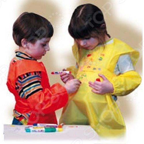 Товар продается в ассортименте. Цвет изделий при комплектации заказа зависит от наличия товарного ассортимента на складе. Спецодежда для занятия творчеством детская СПОРТБЭБИ БЭБИ станет отличным приобретением для вашего малыша и пригодится для творческих занятий в детсаду. Вещи выполнены из непромокаемых тканей и предназначены для защиты одежды от пятен краски, клея, пластилина и т.д. В комплекте фартук и нарукавники.