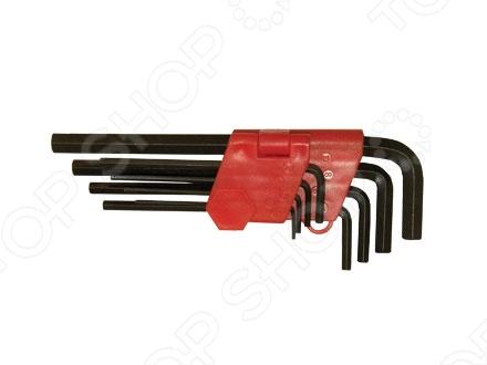 Набор ключей имбусовых MATRIX HEX набор инструментов matrix 11222 набор ключей имбусовых 2 012мм 9шт