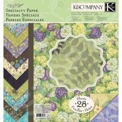 Набор бумаги для скрапбукинга K&amp;amp;Company «Мир растений»Бумага и производные<br>Набор бумаги для скрапбукинга K Company Мир растений поможет вам создавать высокохудожественные обложки для альбомов, прекрасные открытки и подарочные коробки, картины, аппликации любые поделки, связанные с бумагой, которые подскажет вам фантазия. Это возможность не только украсить свой дом, но и приготовить своими руками оригинальные и запоминающиеся подарки. Набор Мир растений удобен и безопасен в работе: он не содержит лигнина и кислот. В набор входит 28 листов размером 31х31 см. Выбирайте понравившийся рисунок, фантазируйте и создавайте вещи ручной работы. Желаем творческих успехов!<br>
