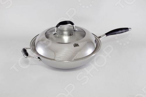 Сковорода вок с крышкой Stahlberg LORETTA 1807-S