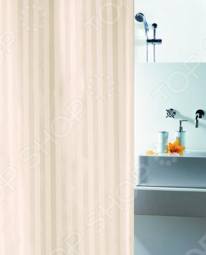 Штора для ванной комнаты Spirella MAGI-SATIN это отличная штора, которая изготовлена из экологически чистого полиэстера. Верхняя кромка имеет отверстия для колец. Приятный рисунок успокаивает и замечательно вписывается в дизайн вашей ванной комнаты. Ткань штор нельзя гладить, сушить и отжимать в стиральной машине. Если необходимо очистить поверхность, то рекомендуется ручная стирка.