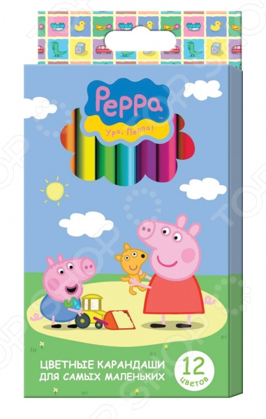 Набор цветных карандашей Peppa Pig «Свинка Пеппа»