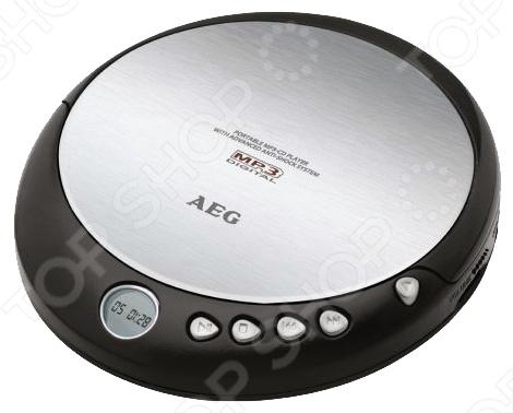 MP3 плеер AEG CDP-4226 - компактное портативное устройство для любителей высококачественного звучания через CD диски. На такие носители можно загружать аудио-записи в формате Lossless FLAC и наслаждаться любимой музыкой в наилучшем качестве. Оснащен монохромным дисплеем для удобной навигации по нужным трекам.