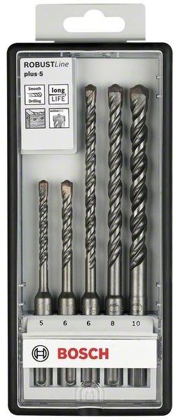Набор сверл для перфоратора Bosch Robust Line SDS plus-5 2607019929  цена и фото