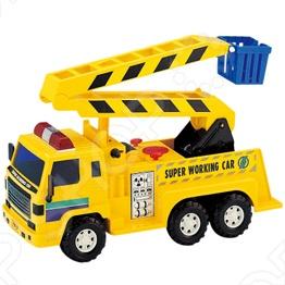 Машинка игрушечная Daesung с подъемником - яркая, реалистичная, качественно смоделированная копия грузовика-подъемника, с инерционным механизмом и лестницей которая поднимается и поворачивается на 360 градусов. Отличная модель для игры как дома, так и на улице с друзьями. Подарите вашему малышу интересную и оригинальную игрушку, которая в свою очередь обеспечит массу удовольствия и веселья.