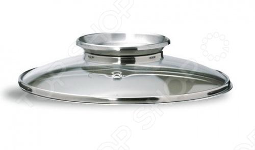 Крышка PENSOFAL стеклянная это уникальная крышка, которая сделана из закаленного стекла и снабжена уникальной ручкой стальной воронкой-дозатором, через которую можно приправлять приготавливаемое блюдо. Отверстие выхода пара не позволяет оседать влаге на стекле. Крышка подойдет для любой посуды подходящего диаметра.