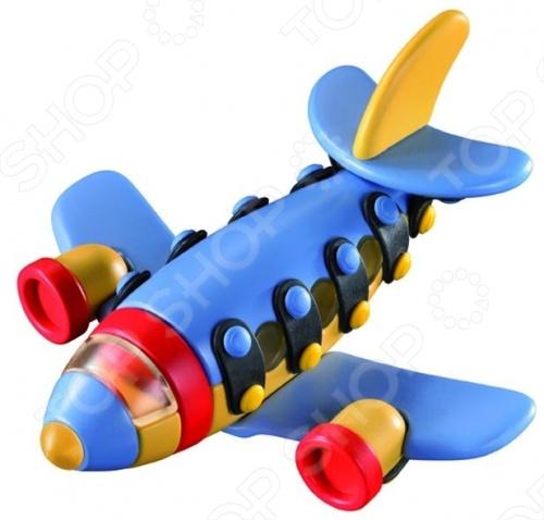 Конструктор игровой Mic-o-mic Самолет реактивный малый mic o mic конструктор автомобиль гоночный малый