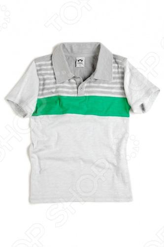 Футболка-поло Appaman Slub PoloФутболки для мальчиков<br>Appaman - основан в 2003 году дизайнером Харальдом Хузуме. Appaman имеет уникальный взгляд на скандинавский стиль AMERIPOP. Хузум находит вдохновение на улицах Бруклина и переводит его в свою постоянно меняющуюся палитру ярких одежд. Appaman, воплощая свои яркие творческие проекты, не забывает об удобстве и качестве для маленьких и главных людей. Вы считаете, что детская одежда должна быть не только удобной, но также стильной и индивидуальной Тогда бренд Appaman USA для Вас! Футболка-поло Appaman Slub Polo -комфортная футболка-поло, выполненная из качественного трикотажного полотна с рисунком в полоску. Состав: 100 хлопок.<br>