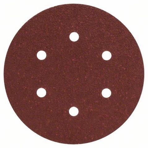 Набор листов для эксцентриковой шлифмашины Bosch Best for Wood, 6 отверстий, 50 шт. набор лент для ленточных шлифмашин bosch best for wood 100x610 мм 3 шт