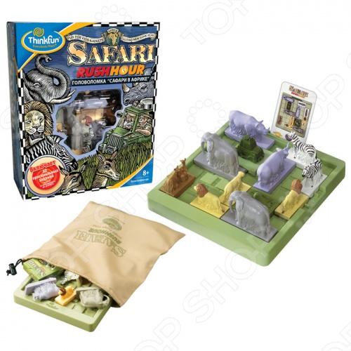 Игра-головоломка Thinkfun «Сафари в Африке»