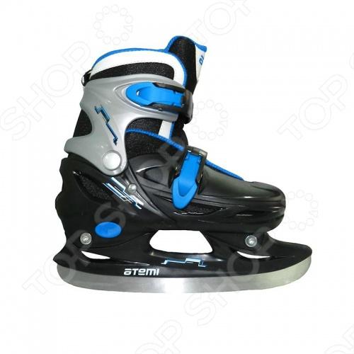 Коньки детские раздвижные хоккейные Atemi ATEMI ICE boy