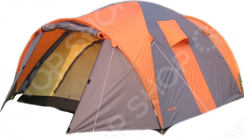 Палатка 4-х местная Larsen QuadroПалатки<br>Комфортня палатка 4-х местная Larsen Quadro имеет: просторный спальный отсек оборудован внутренней палаткой из дышащего полиэстера и легко разместит вашу семью или компанию друзей , два вентиляционных отверстия будут постоянно поддерживать в палатке нормальный микроклимат. Имеются два входа с разных сторон и два небольших тамбура для хранения вещей. Палатка надежно защитит от обычного и привычного для средней полосы дождя.<br>