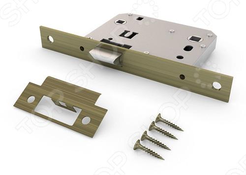 Механизм замка Palladium 170Скобяные изделия и замки<br>Благодаря своей конструкции, межкомнатный механизм замка Palladium 170 защищен от влаги, пыли и внешнего воздействия, плотно и прочно располагаясь внутри двери. У этого механизма применяется универсальный тип механизма.<br>