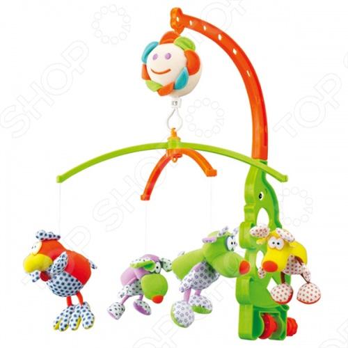 фото Карусель музыкальная Canpol babies «Веселые зверушки», Музыкальные карусели. Мобили