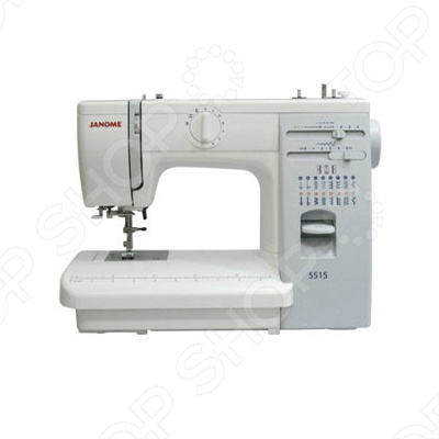 Швейная машина Janome 5515 электромеханическая швейная машина vlk napoli 2100