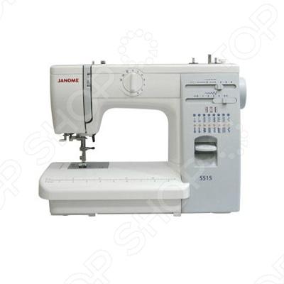 Швейная машина Janome 5515 швейная машина vlk napoli 2400
