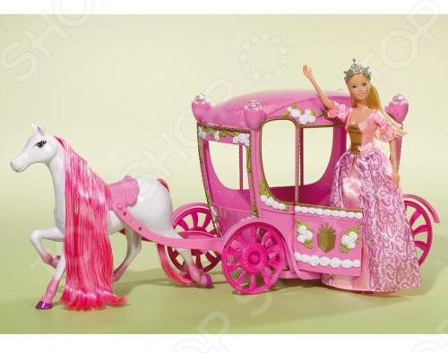 Кукла штеффи в карете Simba 5739125 кукла штеффи в карете simba 5739125