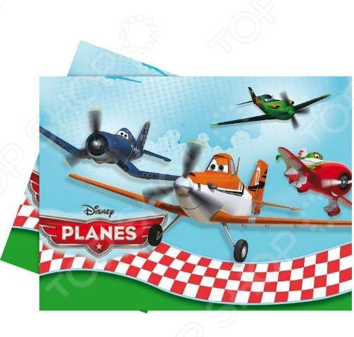 Скатерть детская Procos «Самолет» посуда и скатерти procos самолеты 120x180 см