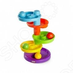 Игрушка развивающая для самых маленьких Little Tikes «Горка-спираль» little tikes развивающая игрушка юла