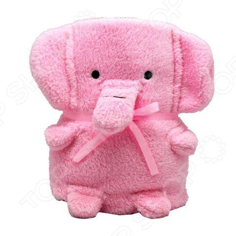 Плед-игрушка Coool Toys «Розовый слоник» игрушка браслет coool toys хрюша