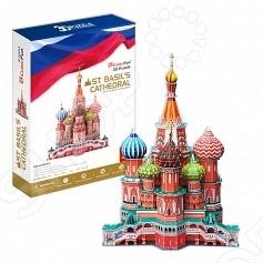 Пазл 3D CubicFun «Собор Василия Блаженного» игрушка собор василия блаженного россия cubic fun