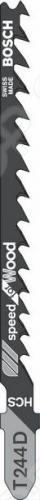 Набор пилок для лобзика Bosch T 244 D HCS