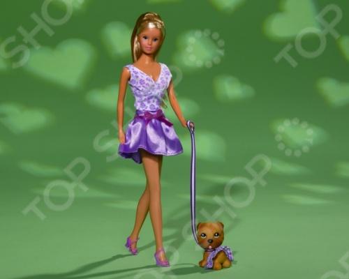 Кукла штеффи с собачкой Simba 5739024