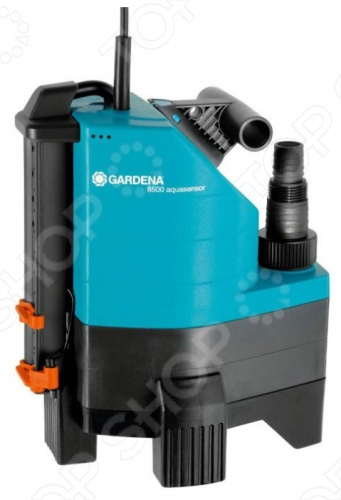 Насос дренажный для грязной воды Gardena 8500 AquaSensor Comfort дренажный насос для грязной воды al ko drain 15000 inox comfort