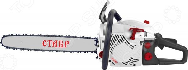 Пила цепная бензиновая СТАВР ПЦБ-45/2200М электрическая цепная пила кратон esc 2200 450