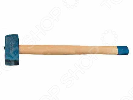 Кувалда с кованой головкой и деревянной рукояткой Труд