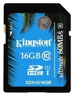 Карта памяти Kingston SDA10/16GB