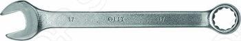 Ключ комбинированный CrV, Профи предназначен для профессионального использования. Материал: хромванадиевая сталь, матовое покрытие. Упаковка: пластиковый подвес.