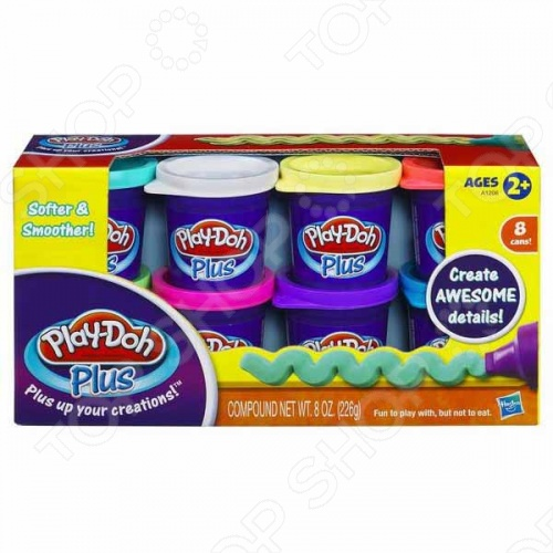 ����� ���������� �� 8 ����� Play-Doh Plus