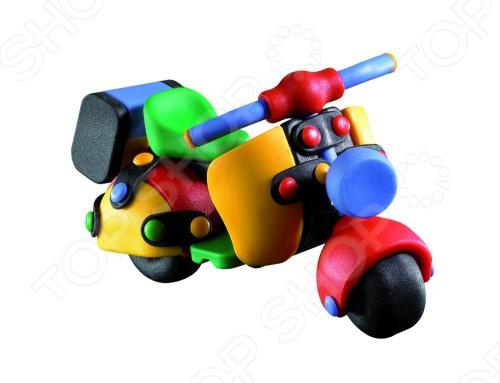 Конструктор игровой Mic-o-mic Мотоцикл mic o mic конструктор автомобиль гоночный малый