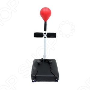 Тренажер для мышц живота Bradex «Двойной удар»Специальные тренажеры<br>Тренажер для мышц живота Bradex Двойной удар это специальный тренировочный аппарат, который позволяет одновременно работать над прессом и отрабатывать удары руками. Двойной удар имитирует боксёрскую тренировку. Одна серия упражнений составляет примерно 100 ударов, совмещённых с подъёмом туловища. Для усложнения тренировки можно увеличивать скорость нанесения ударов, совершая попеременные удары локтями, удары по груше костяшками пальцев, откинувшись назад, и т.д.<br>