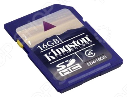 фото Карта памяти Kingston SD4/16GB, Карты памяти. Кардридеры
