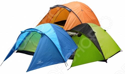 Палатка 3-х местная Greenwood Target 3Палатки<br>Палатка 3-х местная Greenwood Target 3 удобная палатка для заядлых путешественников. В палаткеодин спальный отсек, оборудованный дополнительной внутренней палаткой из дышащего полиэстера, способный вместить 3-х человек. Вход предусмотрительно продублирован антимоскитной сеткой.<br>