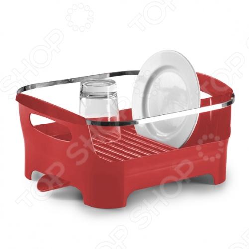 Сушилка для посуды Umbra Basin представляет собой замечательный аксессуар для вашей кухни, с помощью которого вам удастся удобно и рационально управляться со своей посудой. Удобные ручки для переноски, желобки для стекающей с тарелок воды, специальный носик, через который стекает вся ненужная вода, а так же высококачественный пластик, из которого изготовлена вся конструкция, делают сушилку Umbra Basin замечательным помощником на вашей кухне.