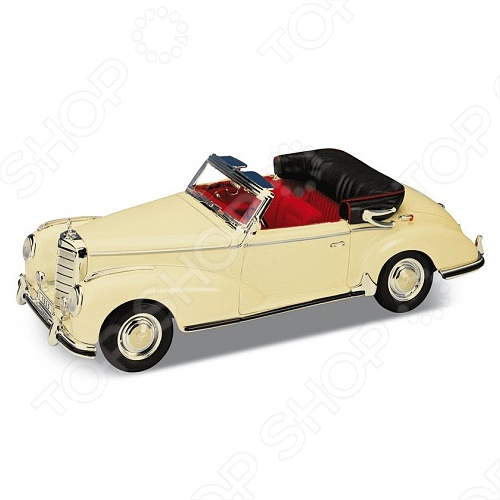 Модель винтажной машины 1:34-39 Welly Mercedes-Benz 300S 1955. В ассортименте