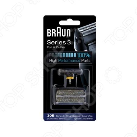 Сетка для бритвы Braun 30B аксессуар braun сетка и режущий блок 52s