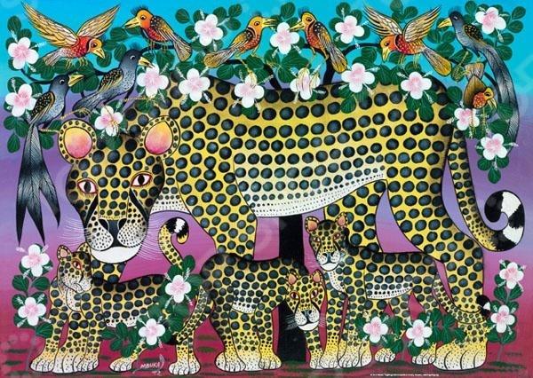 Heye «Семья леопардов»