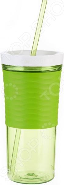 Стакан-шейкер Contigo отлично выполняет свою главную функцию смешивает коктейли и напитки. Благодаря современным технологиям, крышка шейкера герметично закрывается и вы не прольете ни капли напитка в процессе его приготовления. У шейкера нескользящая поверхность, так что вам будет удобно держать его в руках во время смешивания любимого коктейля.