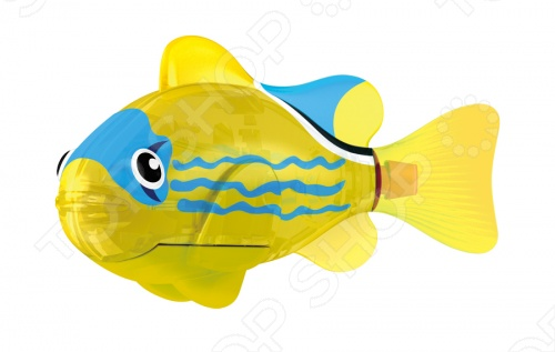Светодиодная РобоРыбка Желтый фонарь танет замечательным подарком и с радостью поселится в вашем аквариуме. Данная модель относится к инновационным высокотехнологичным игрушкам. Активируется игрушка в воде, имитирует движения и повадки рыбы. Электромагнитный мотор дарит её свободу движений: вверх, вниз, вперед, вправо и влево. Светодиодная рыбка из резины умеет еще моргать, причем эта функция автоматически выключается через пару минут. Интерактивная игрушка эффективно заменит настоящих питомцев.