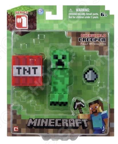 Набор игровой c фигуркой и аксессуарами Minecraft «Крипер» цена и фото