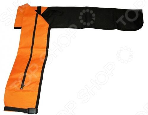 Чехол для лыж Larsen для одной пары беговых лыж. Застегивается на застежку-молнию. С его помощью можно сохранить лыжи в отличном состоянии. Чехол для лыж даст возможность удобно носить их на плече. При перелете, авиакомпании обязательно требуют перевозку в чехле.