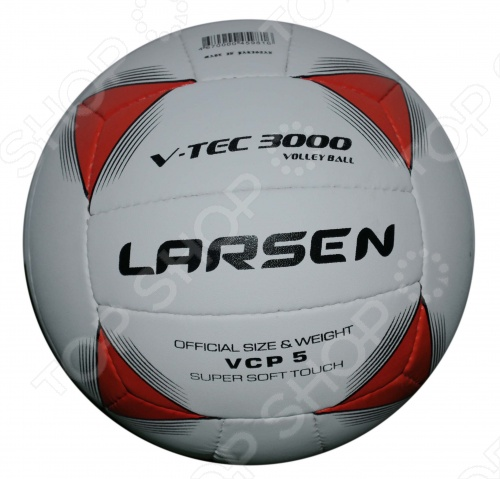 Мяч волейбольный Larsen V-tech3000 для классического волейбола. Выполнен из полиуретана композитные материалы. Ручная сшивка 18 панелей. Технология Soft Touch. Мяч рекомендован для любителей. Желательно использовать для игры в зале.