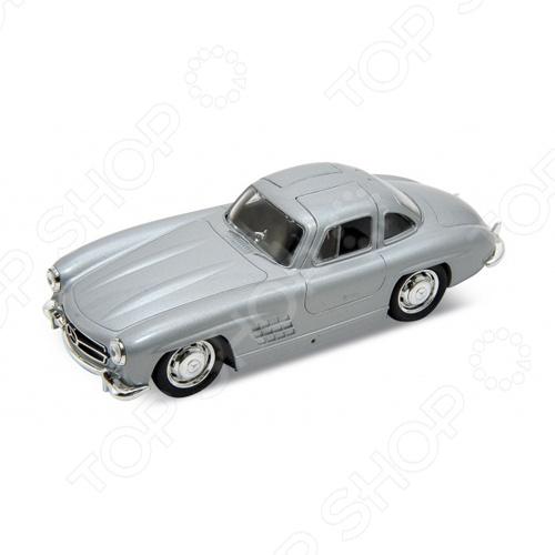 Модель винтажной машины 1:34-39 Welly Mercedes-Benz 300SL. В ассортиментеМодели авто<br>Товар продается в ассортименте. Цвет изделия при комплектации заказа зависит от наличия цветового ассортимента товара на складе. Модель винтажной машины 1:34-39 Welly Mercedes-Benz 300SL это качественно смоделированная копия оригинального автомобиля, которая непременно станет отличным дополнением в вашей коллекции. Модель изготовлена по лицензии и наилучшим образом сочетает в себе высокую детализацию и качественный вид. Идеальный подарок для коллекционеров.<br>